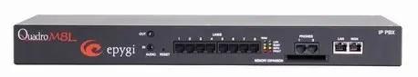 QuadroM 8L -הטובות בעולם  IP  מרכזיות